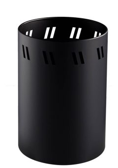 Wesco Paper bin matt black