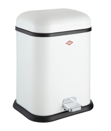 Wesco Waste Bin Single-Boy White13LT