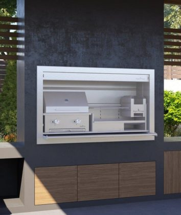Signi Fires Insert Gas and wood Braai