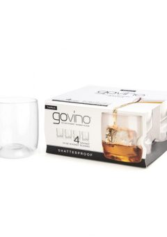 Govino whiskey glasses set of 4