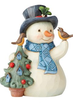 Jim Shore Snowman Hello Winter