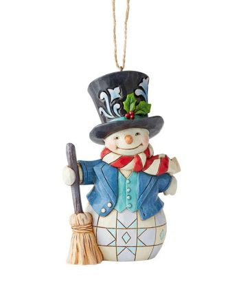 Jim Shore Snowman with top hat