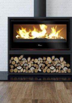 Lacunza Silver 1000 Freestanding log storage