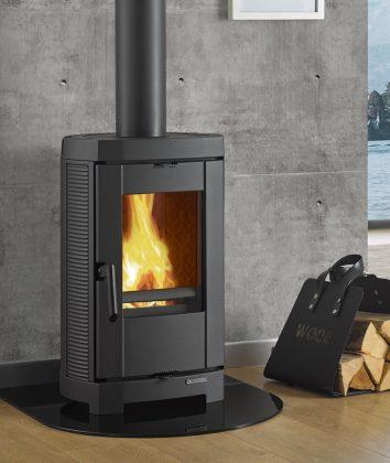Nordica Brigitta Fireplace