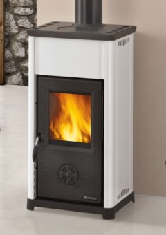Nordica Tea Fireplace White