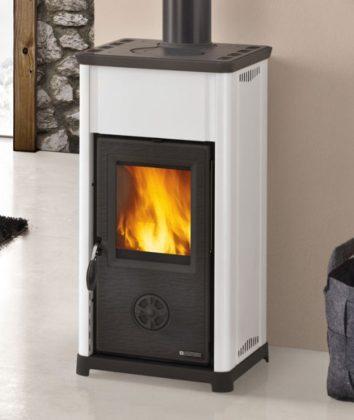 Nordica Tea Fireplace White