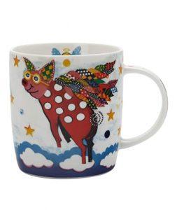 Coffee mug Happy Pigasus