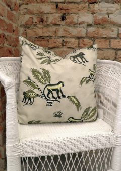 Ardmore Scatter Cushion Moneky palm desert mud 60 b 60
