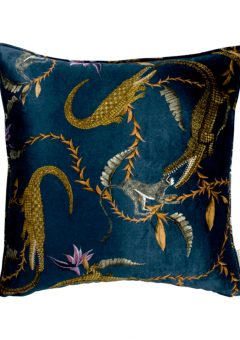 Ardmore Scatter Cushion River Chase Royal Velvet 60 b 60