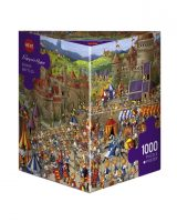 Puzzle 1000 piece Bunny Battles