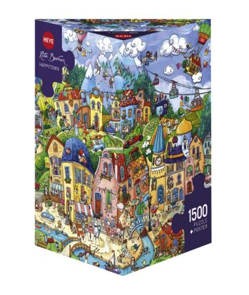 Happy Town 1500pc