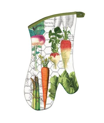 Michel Design Works Oven Glove Vegetable Kingdom