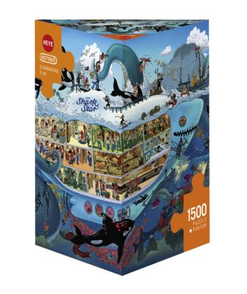Puzzle 1500 piece Submarine Fun