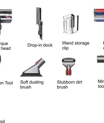 Dyson V11 Absolute extra accessories