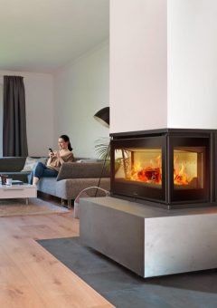 Lacunza Adour 800 CLID Built In Fireplace