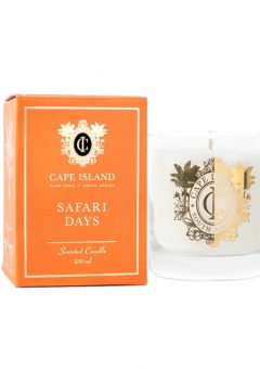 Cape Island Scented candle safari days
