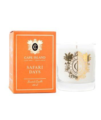 Cape Island Scented candle safari days