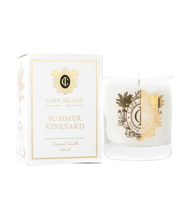 Cape Island Scented candle summer vineyard