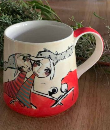 Art d olivia coffee mug You and Me