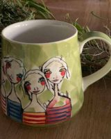 Art d olivia coffee mug treasure friendships
