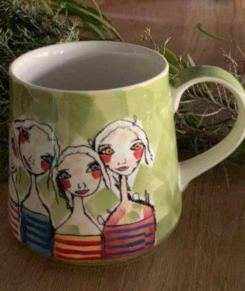 Art d olivia coffee mug treasure friendships