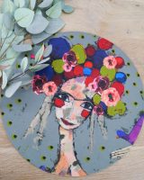 Art d olivia large round placemat Flower Girl