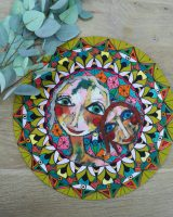 Art d olivia large round placemat Friends