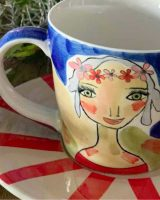 Art d olivia tea cup and saucer live your dreams