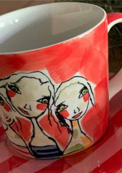 Art d olivia tea cup and saucer treasure friendships