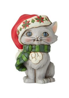 Jim Shore Christmas Kitten