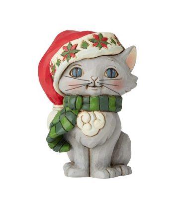 Jim Shore Christmas Kitten