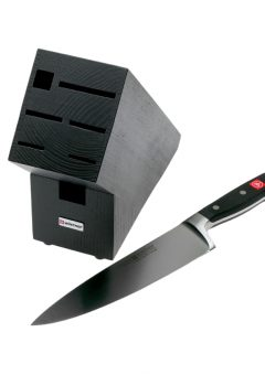 Wusthof Classic 2 In 1 Knife and Block Black