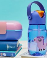 Zoku Kids Flip straw Bottle purple
