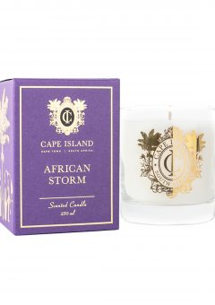 Cape Island Scented Candle African Storm